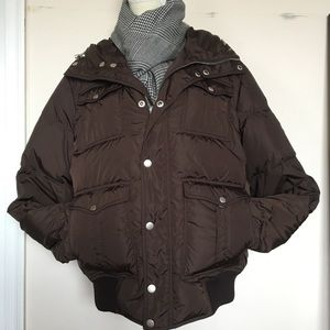💯 Authentic Gucci Brown winter Jacket M-L❄️